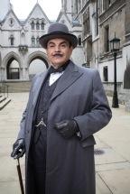 David Suchet encarnando al detective en POIROT