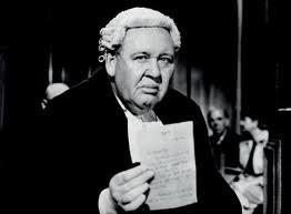 Charles Laughton estuvo nominado por su papel de abogado en Testigo de cargo