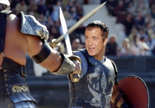 RUSSEL CROWE STARS IN THE DREAMWORKS FILM GLADIATOR